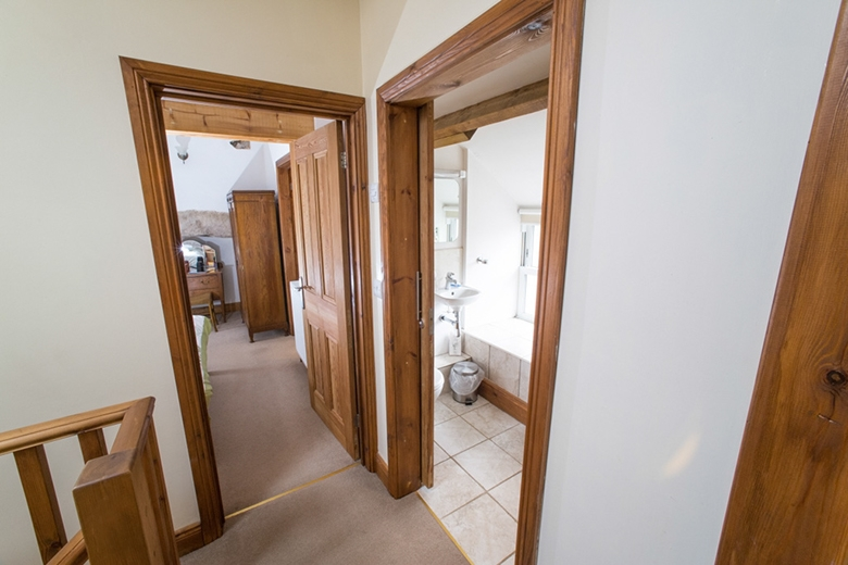 Double bedroom and shower room