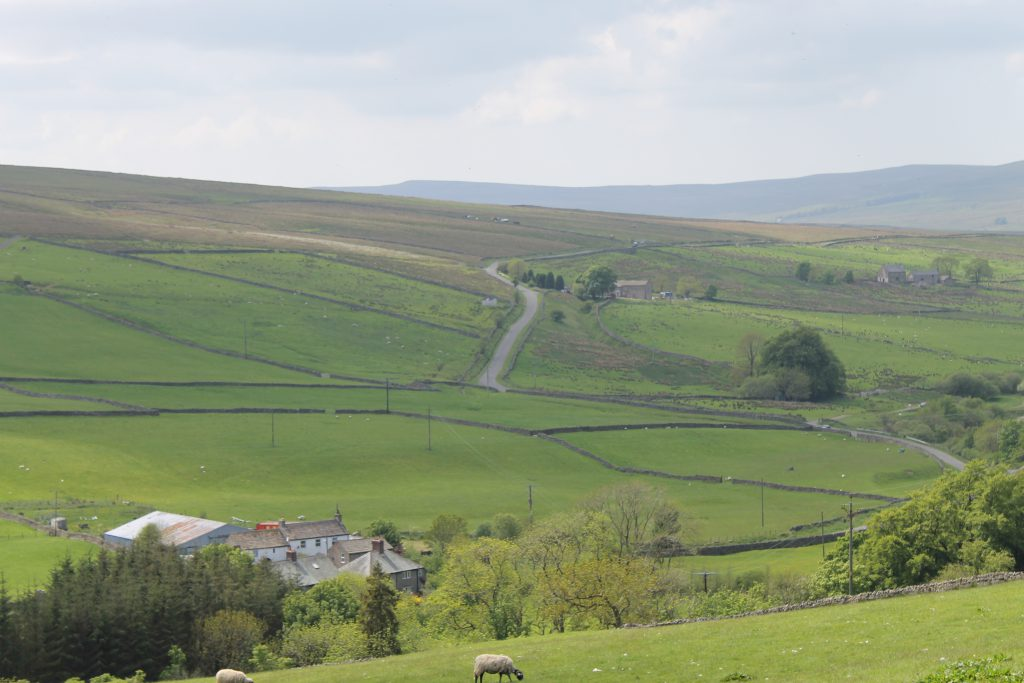 Amazing view from Isaac's Byre holiday cottage